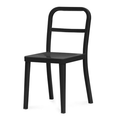 Monkton Combe Side Chair Finish: Black