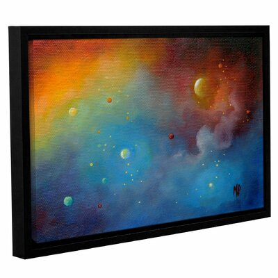 Spaced Out Framed Painting Print Size: 12