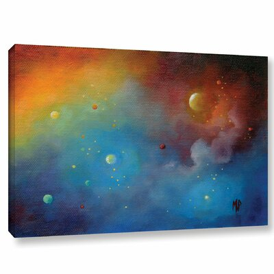 Spaced Out Painting Print on Wrapped Canvas Size: 12
