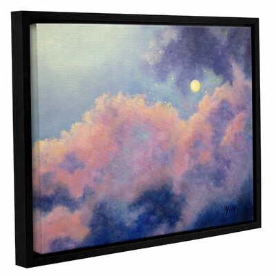 Angels Among the Clouds Framed Painting Print Size: 14