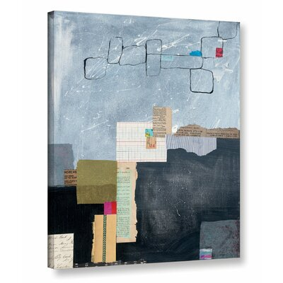 Block Abstract I Graphic Art on Wrapped Canvas Size: 10