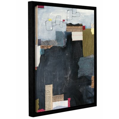Block Abstract II Framed Graphic Art Size: 10