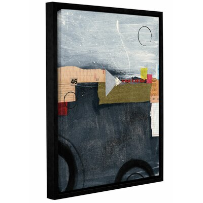 Abstract 46 Framed Graphic Art Size: 10