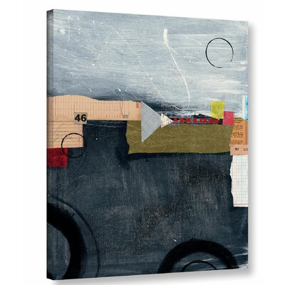 Abstract 46 Graphic Art on Wrapped Canvas
