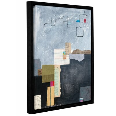 Block Abstract I Framed Graphic Art Size: 10