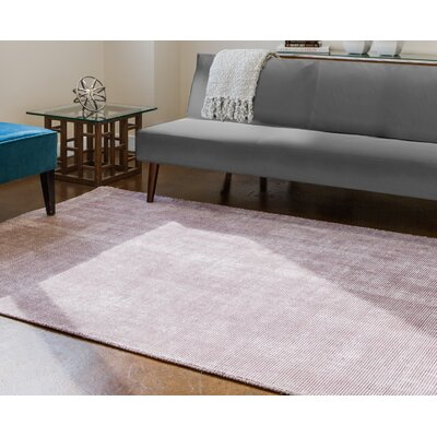 Sugarland Hand-Woven Plum/Gray Area Rug