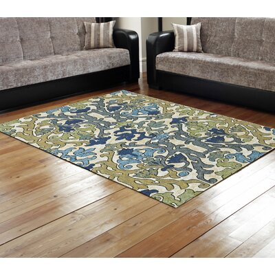 Peasedown St John Blue/Beige Area Rug Rug Size: Rectangle 18 x 210