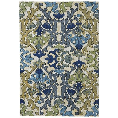 Peasedown St John Blue/Beige Area Rug Rug Size: Rectangle 5 x 8