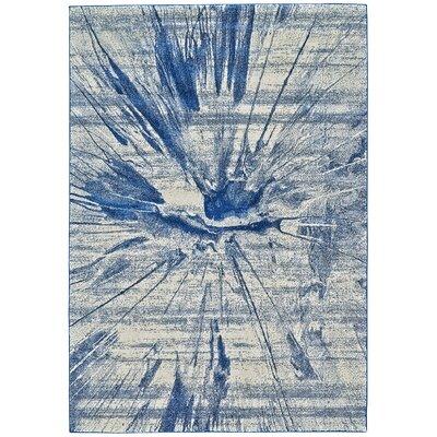 Peasedown St John Cobalt Blue Area Rug Rug Size: 5 x 8