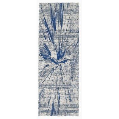 Peasedown St John Cobalt Blue Area Rug Rug Size: Runner 2'10