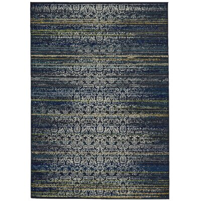 Peasedown St John Midnight Blue Area Rug Rug Size: Rectangle 8 x 11