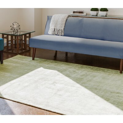 Sugarland Hand-Loomed Lime Area Rug