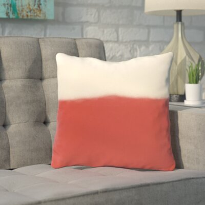 Bunnell Throw Pillow Size: 26 H x 26 W, Color: Icicle