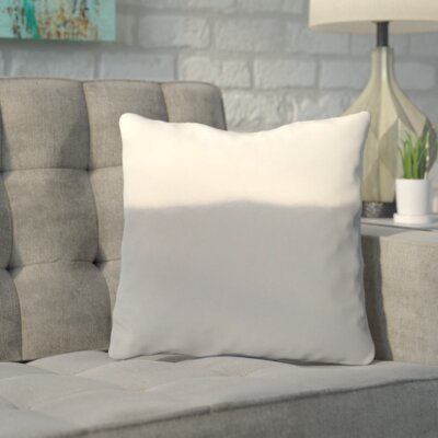 Bunnell Throw Pillow Size: 18 H x 18 W, Color: Silver