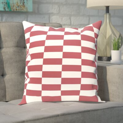 Segal Throw Pillow Size: 16 H x 16 W, Color: Rust
