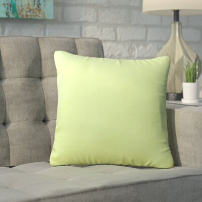 Savell Outdoor Throw Pillow (Set of 2) Color: Light Green