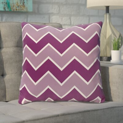 Bunnell Geometric Throw Pillow Size: 16 H x 16 W, Color: Sugar Sachet