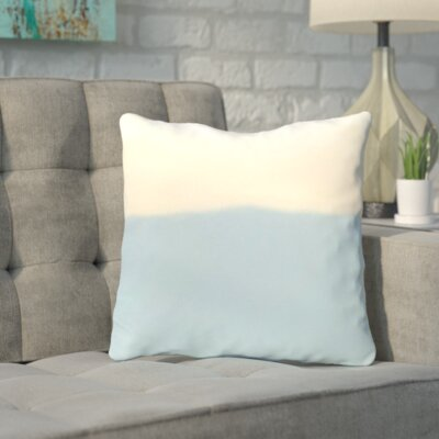 Bunnell Throw Pillow Size: 16 H x 16 W, Color: Icicle