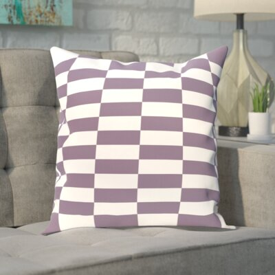 Segal Throw Pillow Size: 18 H x 18 W, Color: Purple