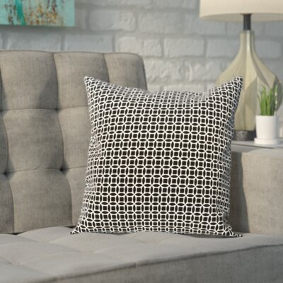 Carnell Throw Pillow Size: 26 H x 26 W x 2 D