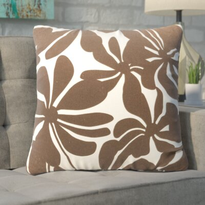 Egerton Throw Pillow Color: Chocolate
