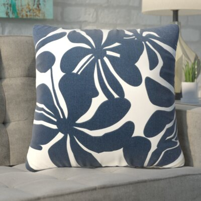 Egerton Throw Pillow Color: Navy Blue