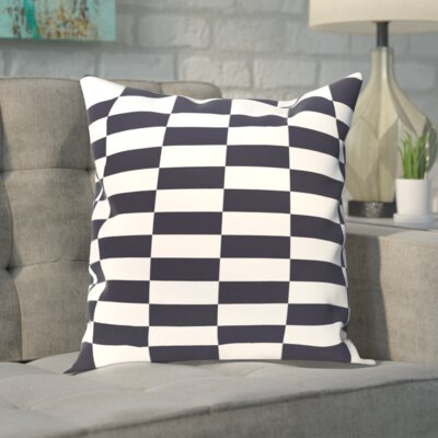 Segal Throw Pillow Size: 20 H x 20 W, Color: Navy Blue