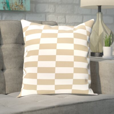 Segal Throw Pillow Size: 26 H x 26 W, Color: Taupe