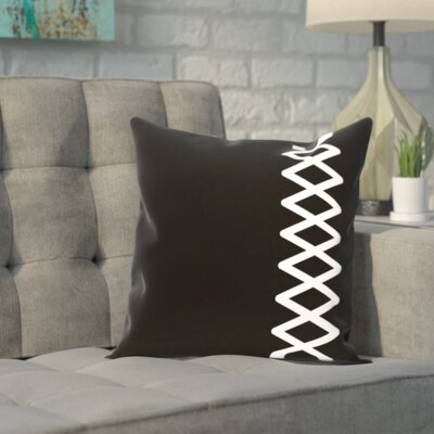 Carnell Throw Pillow Size: 16