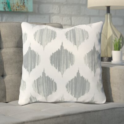 Deandrea 100% Cotton Throw Pillow Size: 18 H x 18 W x 4 D, Color: Moss, Filler: Polyester