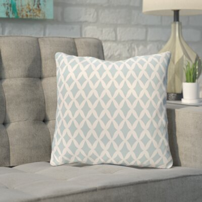 Bunnell Geometric Throw Pillow Size: 26 H x 26 W, Color: Icicle