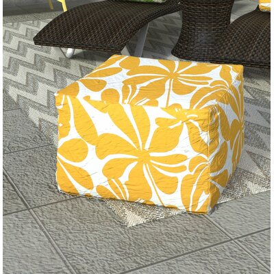 Monterey Bean Bag Ottoman Color: Yellow
