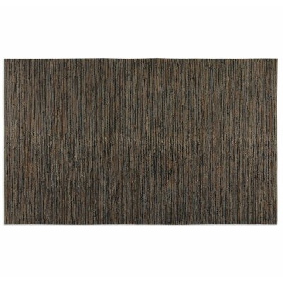 Foxcote Hand-Loomed Rust Brown/Jute Area Rug