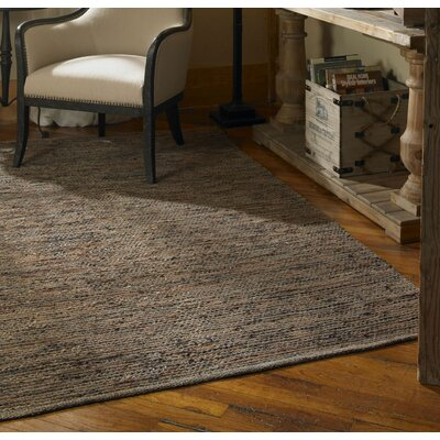 Foxcote, SomersetFoxcote Hand-Loomed Rust Brown/Jute Area Rug