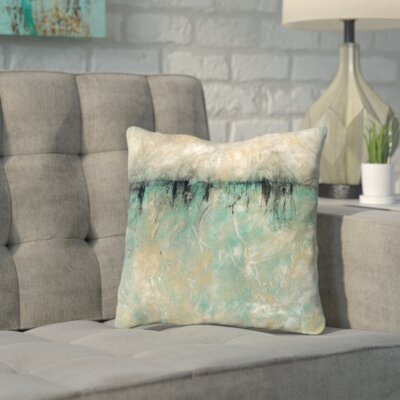 Soriano The Forbidden Lake Throw Pillow Size: 20 H x 20 W x 2 D