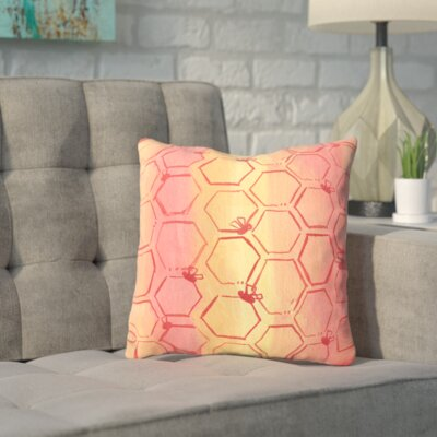 Spinks Untitled Throw Pillow Size: 16 H x 16 W x 2 D
