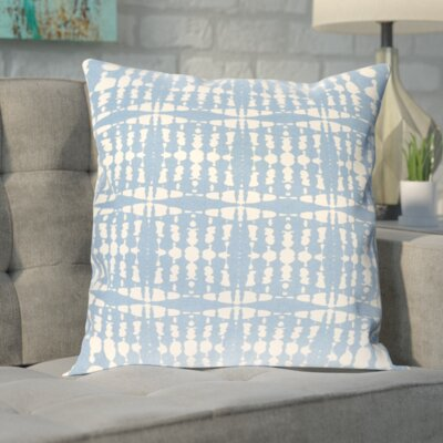 Clevedon Cotton Pillow Cover Size: 20 H x 20 W x 0.25 D, Color: Blue