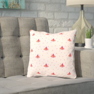 Spillman Onefeinday Bumblebeez Throw Pillow Size: 20 H x 20 W x 2 D