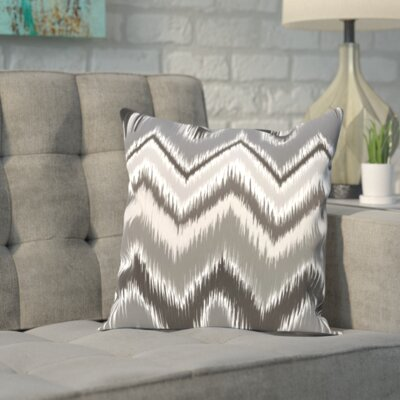 Fossett Chevron Throw Pillow Size: 18 H x 18 W x 2 D