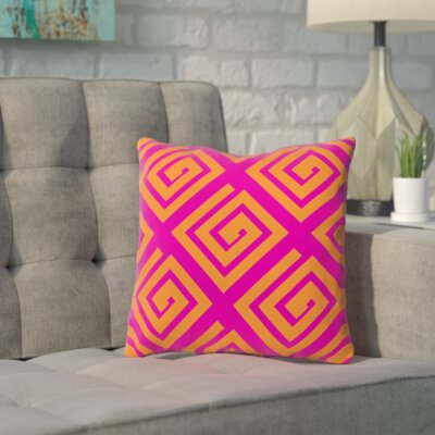 Seymore Abstract Geometric Throw Pillow Size: 18 H x 18 W x 2 D