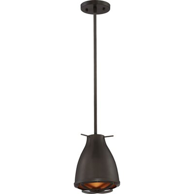 Marco 1-Light LED Mini Pendant Shade Color: Dark Bronze/Copper
