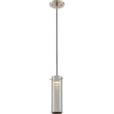 Galien 1-Light LED Mini Pendant Shade Color: Copper