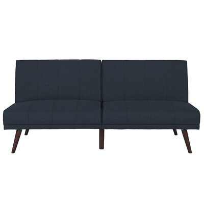 Buttrey Convertible Sofa Upholstery: Navy
