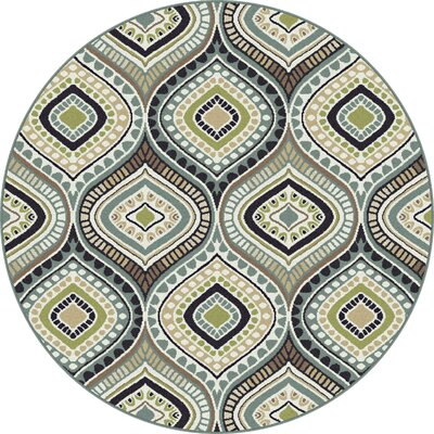 Martello Green Area Rug Rug Size: 8 x 10