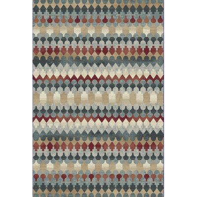 Perrinton Blue Area Rug Rug Size: Runner 22 x 1010