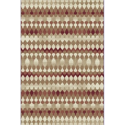 Perrinton Beige Area Rug Rug Size: Rectangle 311 x 53