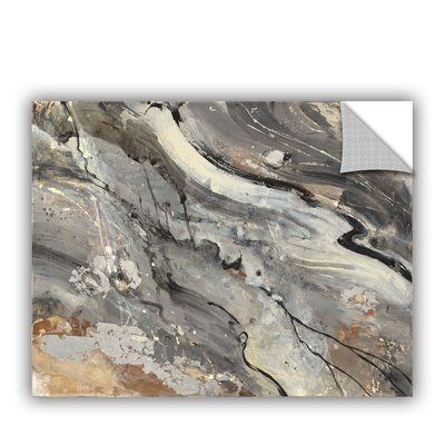 Minerals IV Wall Decal Size: 14