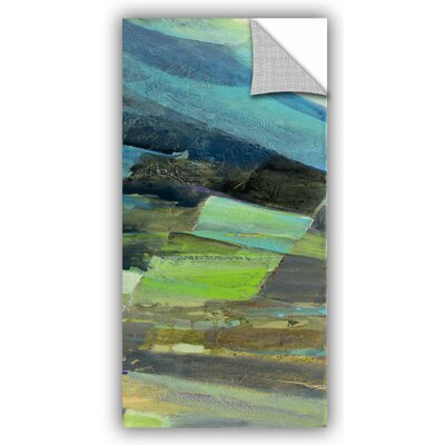 View of the Coast Panel II Wall Decal Size: 24