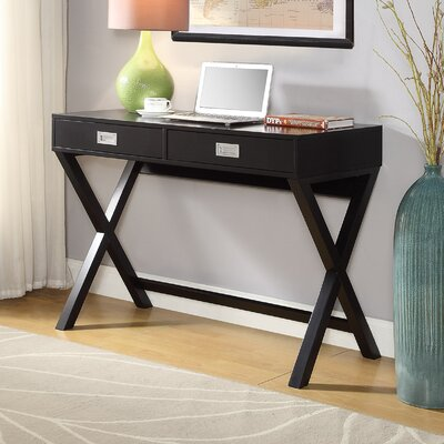 Walther Writing Desk Finish: Black