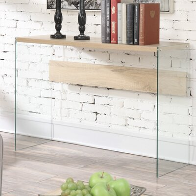 Calorafield Console Table Finish: Weathered White